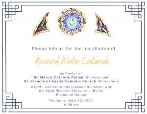 FR MARTIN INSTALLATION AS PASTOR @ St. Ann Church