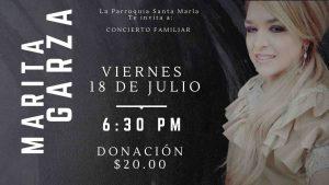 Concierto Familiar con Marita Garza